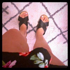 Black Cityclassified platform sandals
